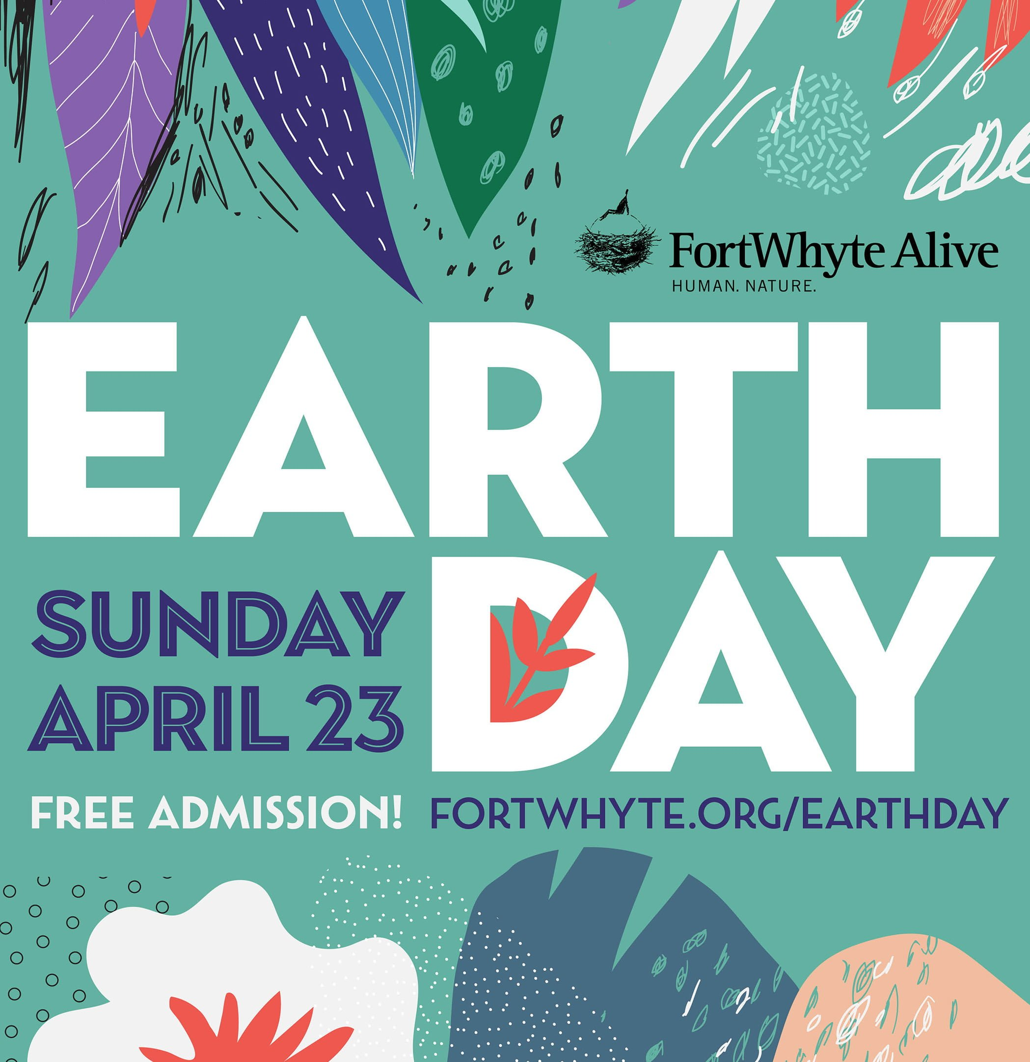 earth day fortwhyte alive