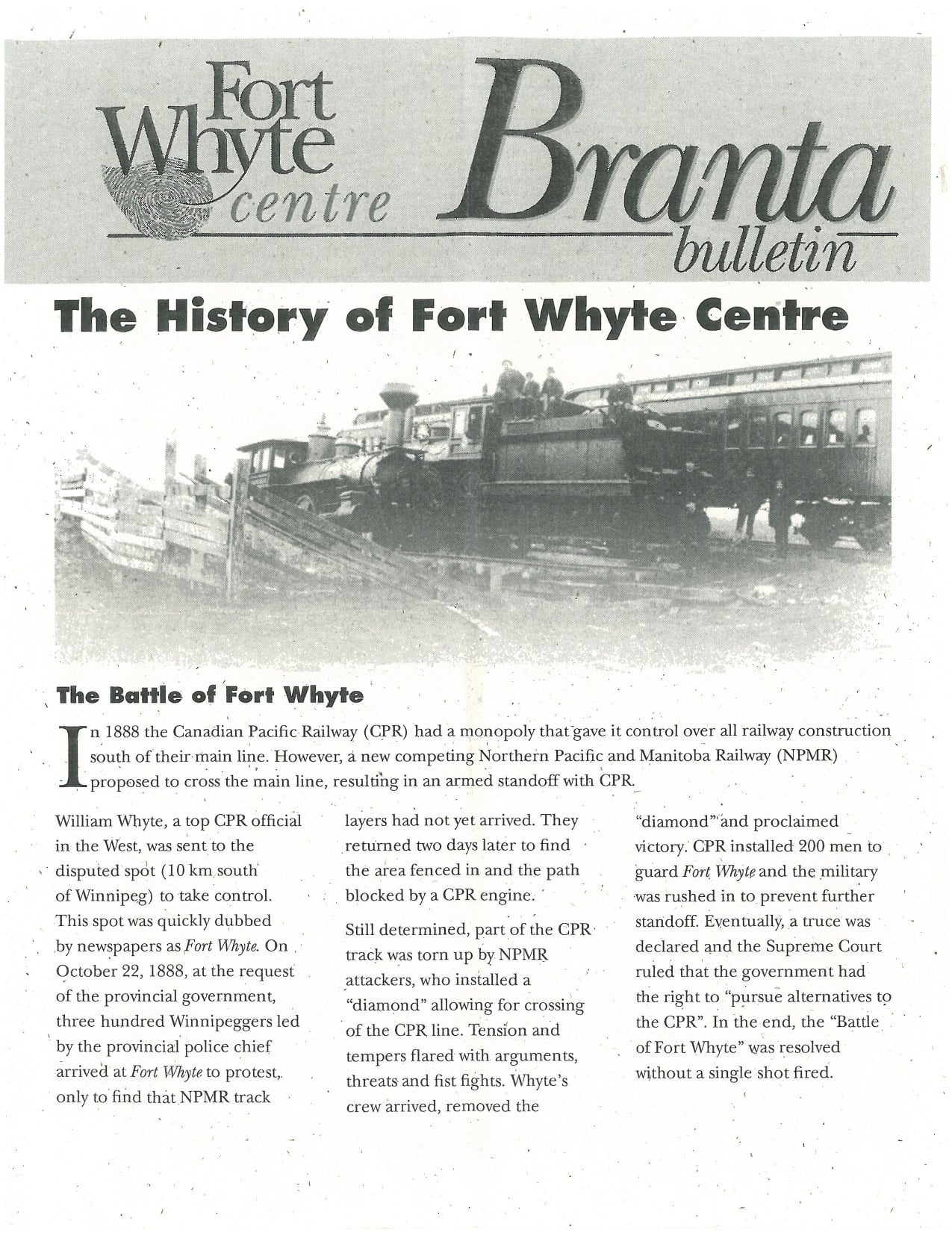 History of FW Branta