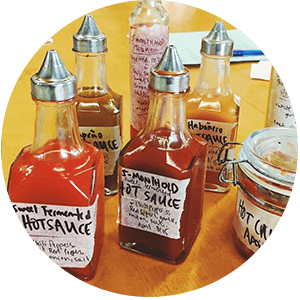 Fermented Hot Sauce at FortWhyte Farms