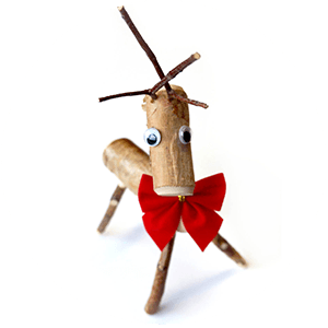 Oliver the Reindeer Craft