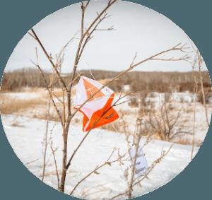 Snowshoe Orienteering