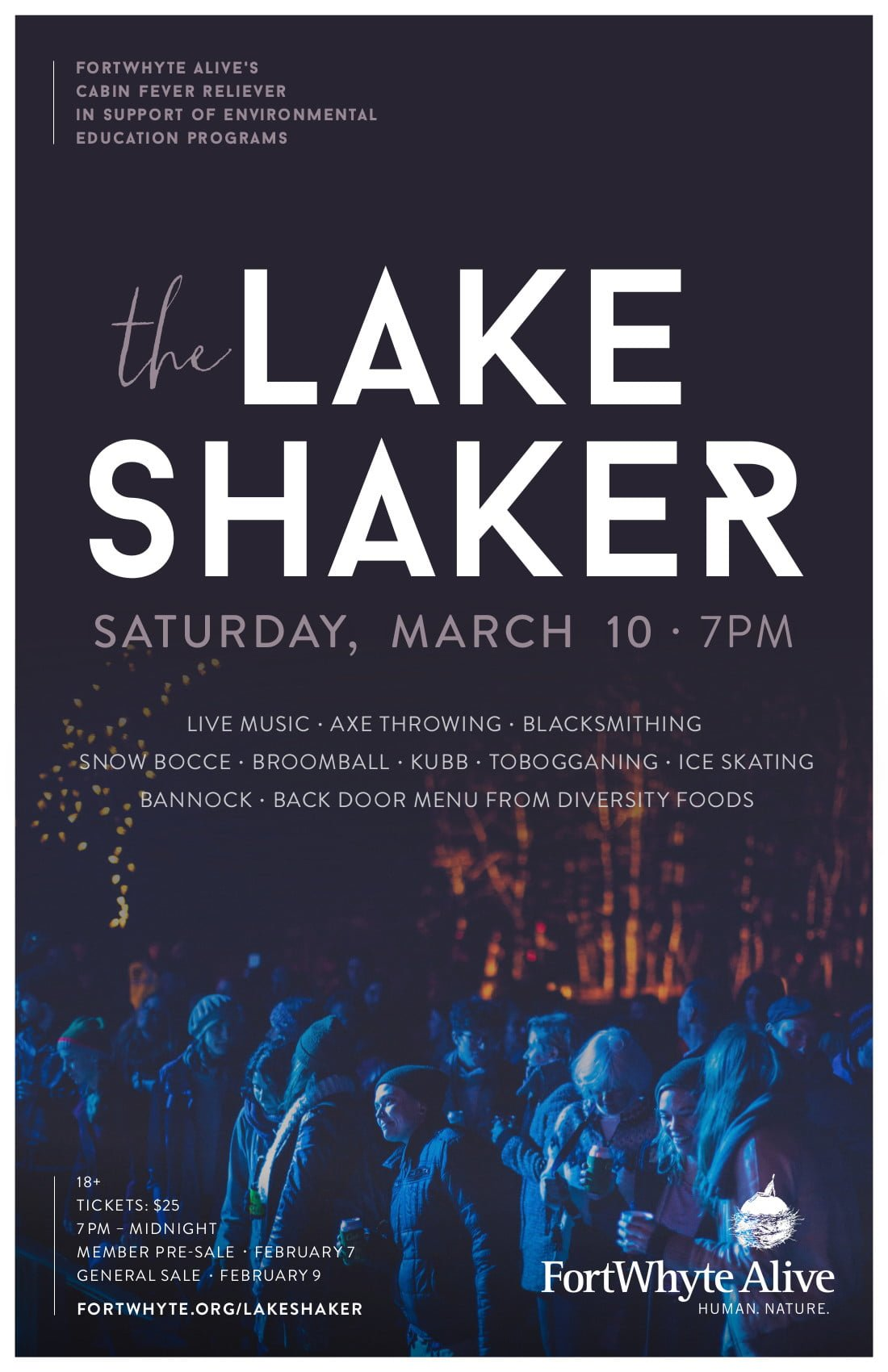 SOLD OUT - The Lake Shaker