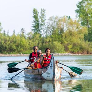 Final Voyageur Canoe Ride