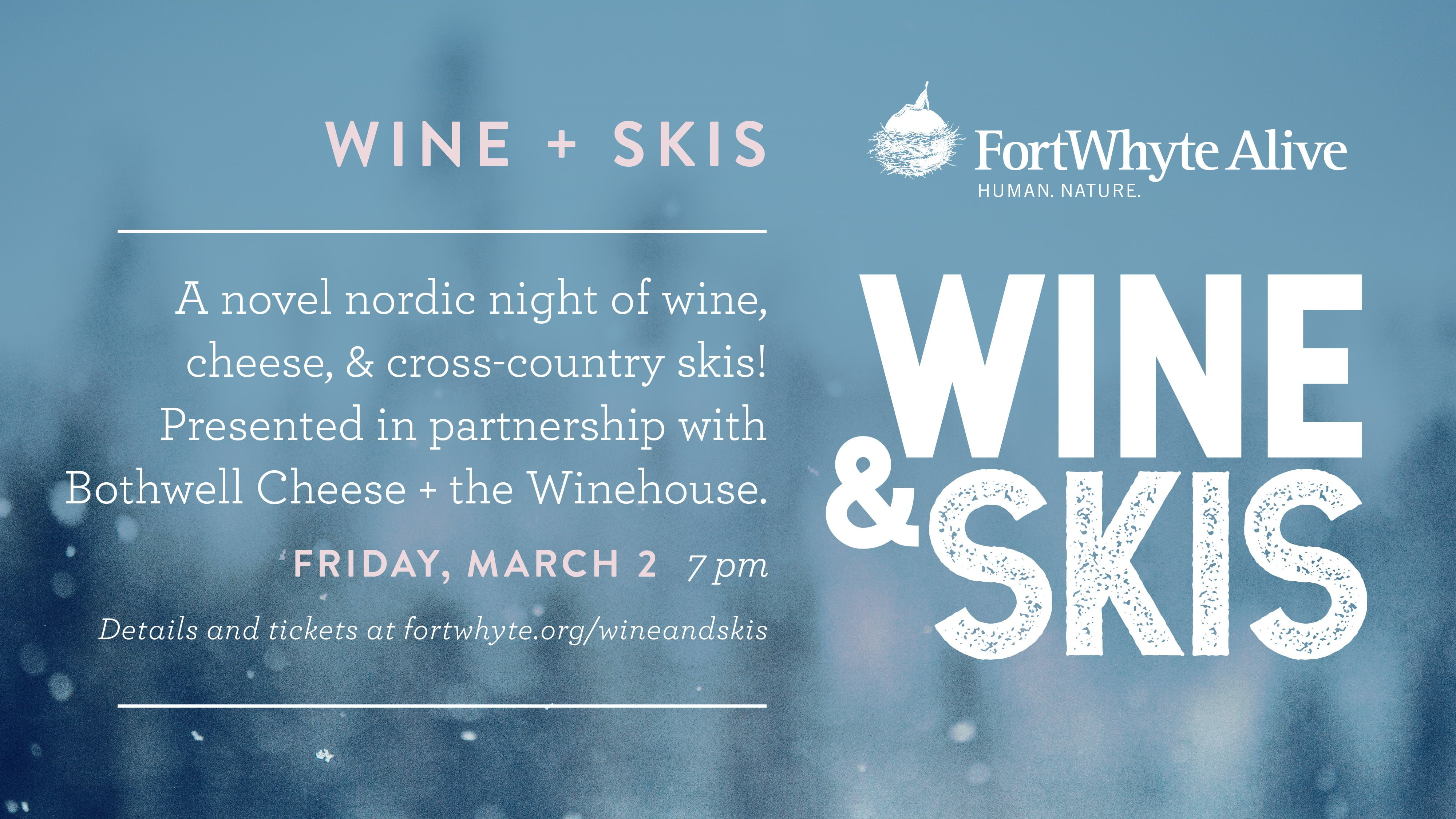 SOLD OUT – Wine + Skis