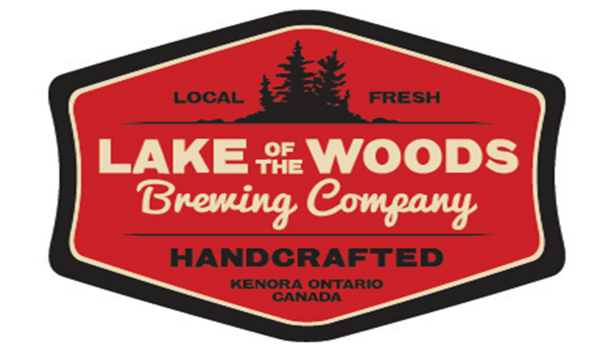 Logo: Lake of the Woods Brewing Company