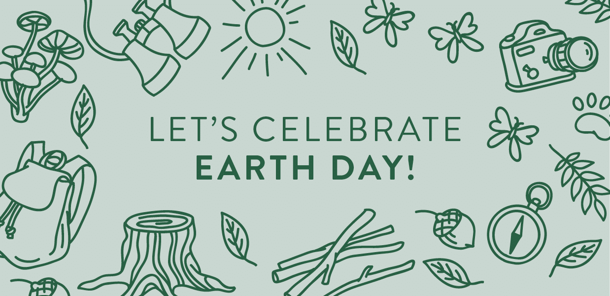 Let's Celebrate Earth Day banner image