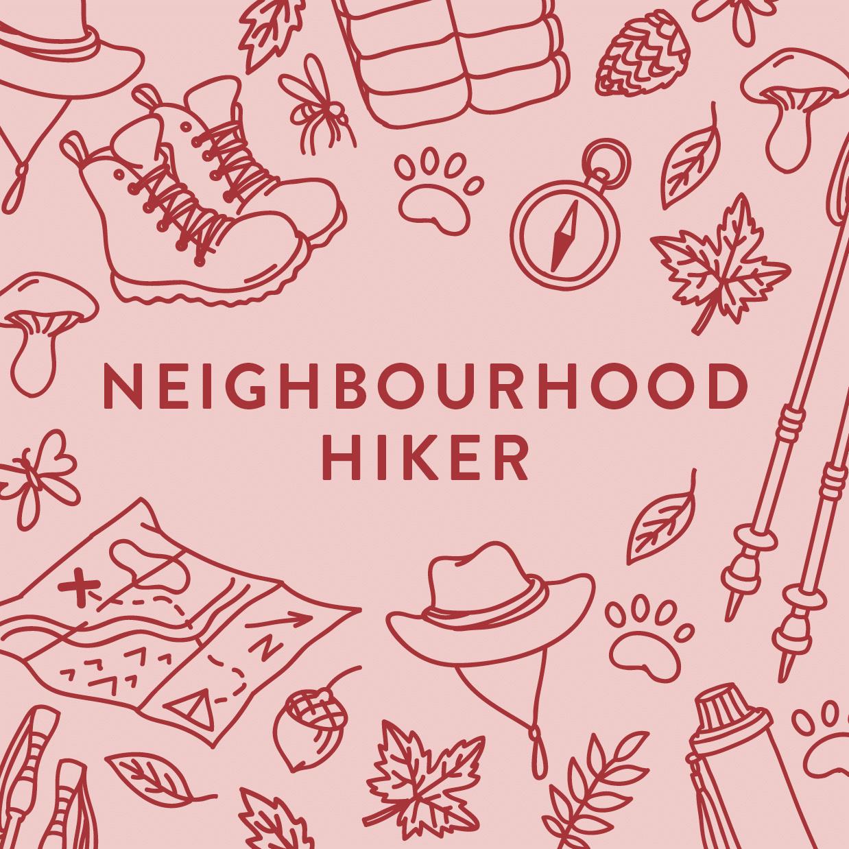Neighbourhood Hiker graphic