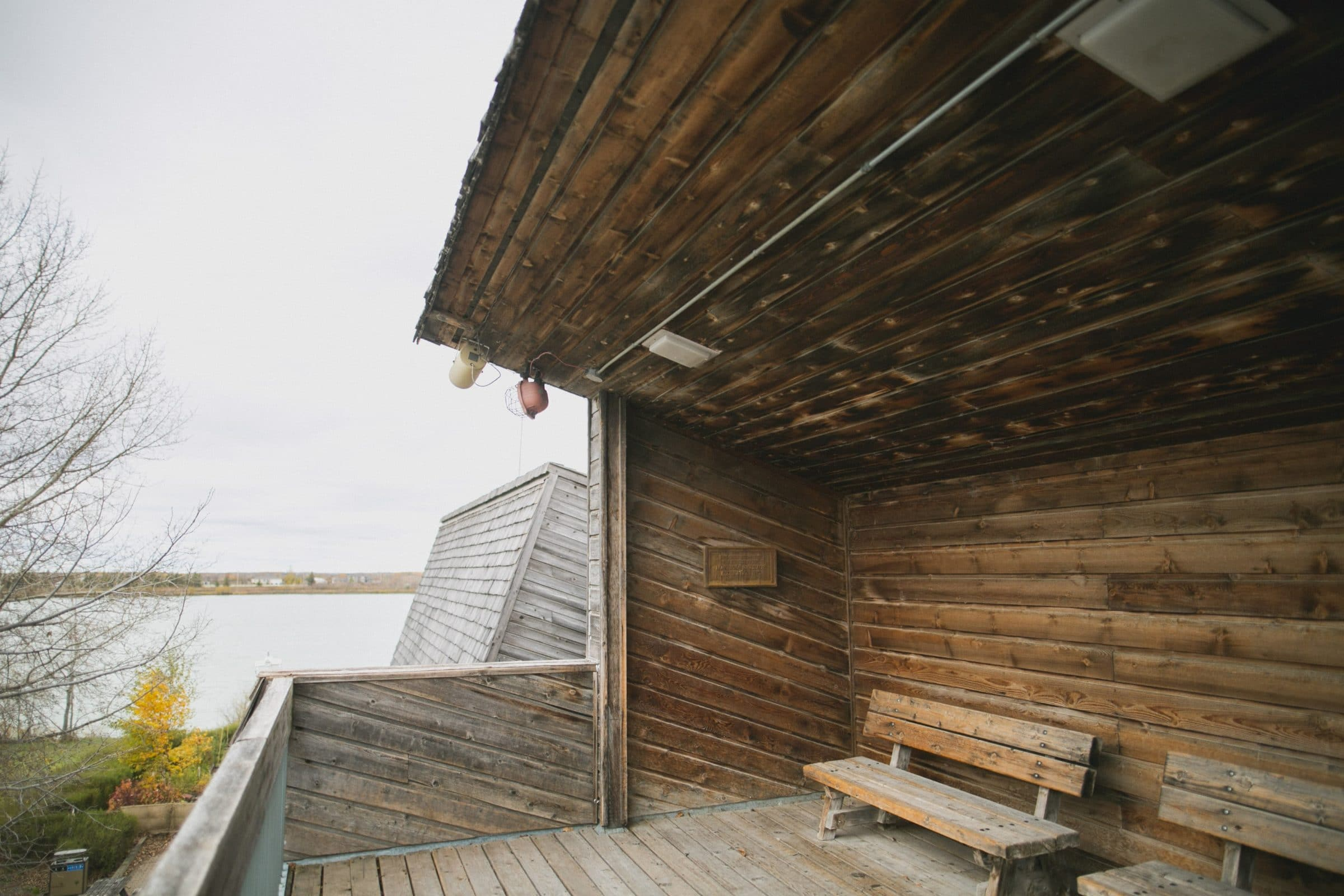 Top deck of Interpretive Centre